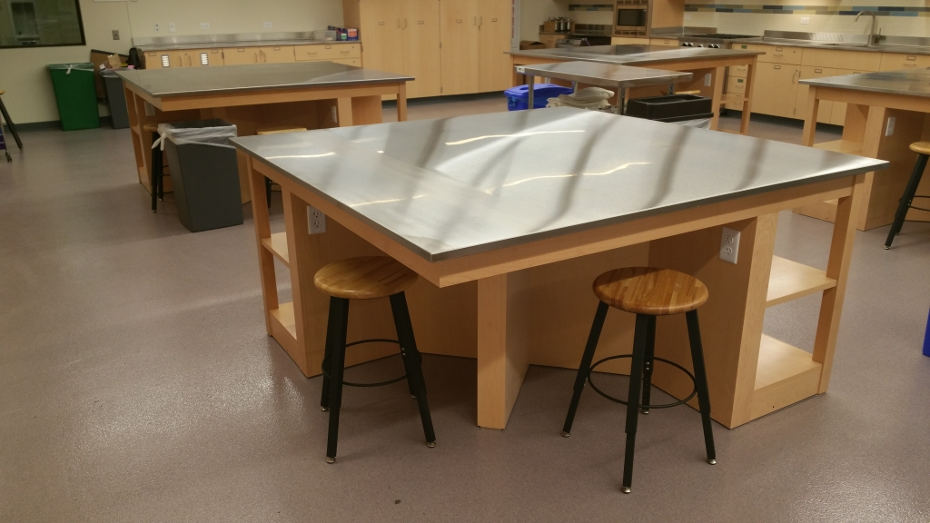 Custom Laboratory Tables